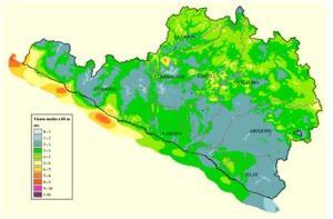 mapa eólico de arequipa